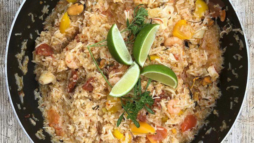 Chilli Seafood Paella