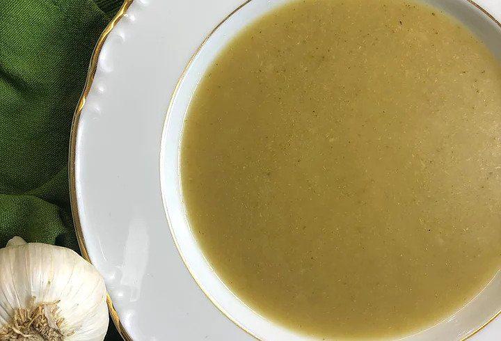 Parsnip & broccoli soup