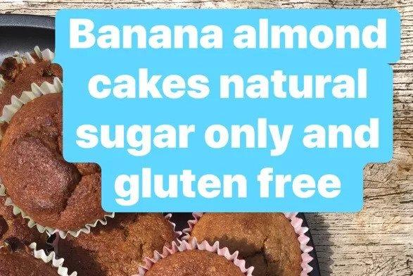 Banana Almond Cakes