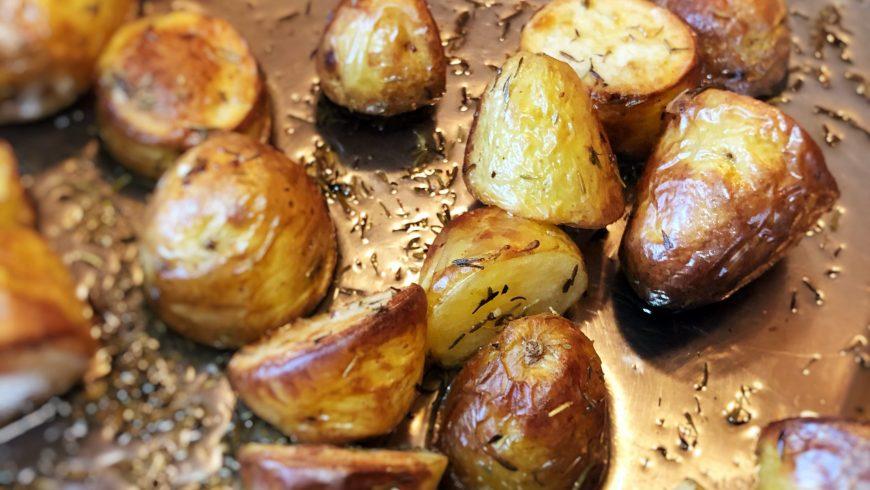Best oil for roast potatoes