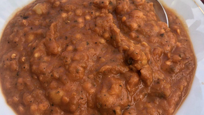 Chilli Chicken Broth Lentil & Chickpea Stew