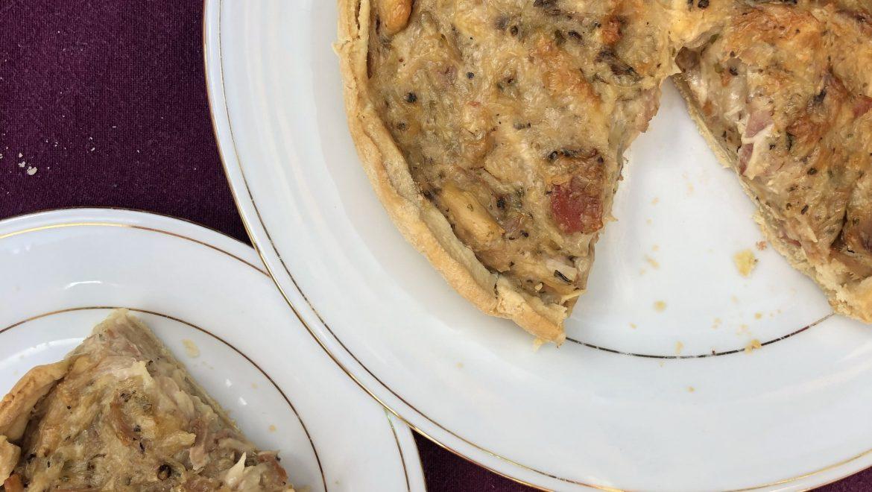 Chicken & Bacon Broth Pie